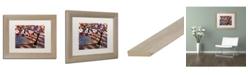 "Trademark Global Natasha Wescoat '028' Matted Framed Art - 11"" x 14"""