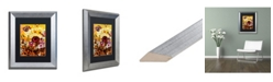 "Trademark Global Natasha Wescoat '106' Matted Framed Art - 11"" x 14"""