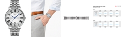 Tissot Men's Swiss Carson Premium Stainless Steel Bracelet Watch 40mm