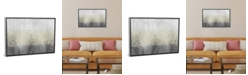 "iCanvas Glitter Swirl Ii by Jennifer Goldberger Gallery-Wrapped Canvas Print - 18"" x 26"" x 0.75"""