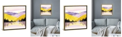 """iCanvas Spring Lake by Spacefrog Designs Gallery-Wrapped Canvas Print - 26"""" x 26"""" x 0.75"""""""