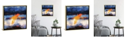 """iCanvas Dusk Reflection by Spacefrog Designs Gallery-Wrapped Canvas Print - 37"""" x 37"""" x 0.75"""""""