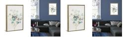 "iCanvas Eucalyptus Iii, White by Danhui Nai Gallery-Wrapped Canvas Print - 40"" x 26"" x 0.75"""