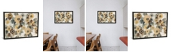 """iCanvas Neutral Floral Beige I by Silvia Vassileva Gallery-Wrapped Canvas Print - 26"""" x 40"""" x 0.75"""""""