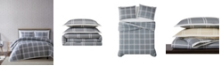Truly Soft Leon Plaid Twin XL Duvet Set
