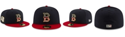 New Era Boys' Baltimore Orioles Stars and Stripes 59FIFTY Cap