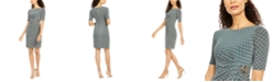 Jessica Howard Elbow-Sleeve Sheath Dress