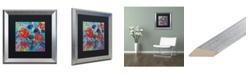"""Trademark Global Carrie Schmitt 'Savasana' Matted Framed Art - 16"""" x 16"""""""