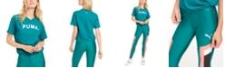 Puma Chase Cotton V-Neck T-Shirt