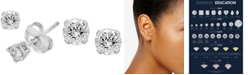 EFFY Collection EFFY® Diamond Stud Earrings (1/4 ct. t.w.) in 14k White Gold