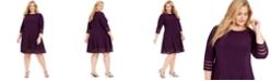 Jessica Howard Plus Size Fit & Flare Dress
