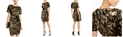 INC International Concepts INC Velvet & Sequin Dress, Created for Macy's