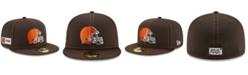 New Era Cleveland Browns On-Field Sideline Road 59FIFTY-FITTED Cap