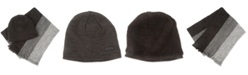 Kenneth Cole Reaction Kenneth Cole Men's Beanie & Scarf Set