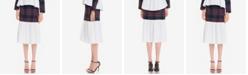 English Factory Tartan Combo Skirt