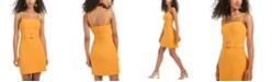 B Darlin Juniors' Belted Dress