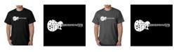 LA Pop Art Men's Word Art T-Shirt - Don't Stop Believin