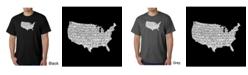LA Pop Art Men's Word Art T-Shirt - The Star Spangled Banner