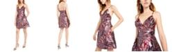 Laundry by Shelli Segal Jacquard Fit & Flare Dress