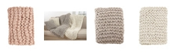 Saro Lifestyle Chunky Knit Throw