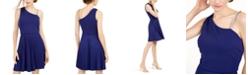 BCX Juniors' Asymmetrical-Strap Dress