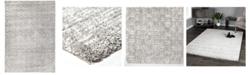 "Palmetto Living Cloud 9 Hara Silver-Cream 5'3"" x 7'6"" Area Rug"
