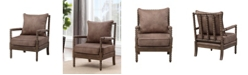 Coast to Coast Brown Accent Chair
