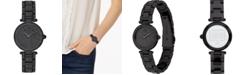 COACH Women's Park Black Pavé Stainless Steel Bracelet Watch 26mm