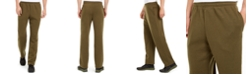 Ideology Men's Open-Hem Fleece Sweatpants, Created for Macy's