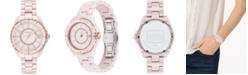 COACH Women's Preston Pink Ceramic Bracelet Watch 32mm