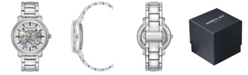 Kenneth Cole New York Men's Silver-Tone Stainless Steel Bracelet Watch, 42.5mm