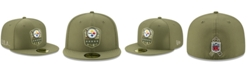 New Era Pittsburgh Steelers On-Field Salute To Service 59FIFTY-FITTED Cap