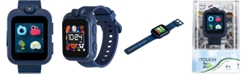 iTouch Kids PlayZoom Blue Camouflage Strap Touchscreen Smart Watch 42x52mm
