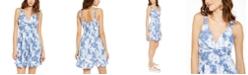 Planet Gold Juniors' Floral Fit & Flare Dress