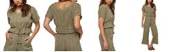 O'Neill Juniors' Leticia Cotton Rope-Tie Top