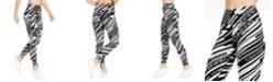 Calvin Klein Lightning Printed High-Waist Leggings