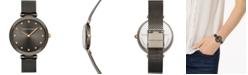 Rebecca Minkoff Women's Nina Gray Stainless Steel Mesh Bracelet Watch 33mm