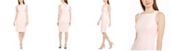 Calvin Klein Square-Neck Sheath Dress