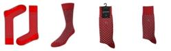 Love Sock Company Squares Organic Cotton Men's Dress Socks
