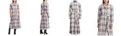 Lauren Ralph Lauren Plaid Long-Sleeve Dress
