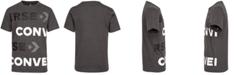 Converse Big Boys Oversized Wordmark Logo T-Shirt
