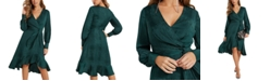 GUESS Raelana Faux-Wrap Dress