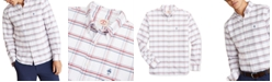 Brooks Brothers Men's Red Fleece Plaid Oxford Shirt