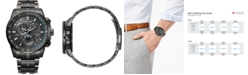 Citizen Eco-Drive Men's PCAT Gray Stainless Steel Bracelet Watch 43mm