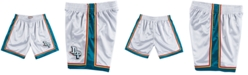 Mitchell & Ness Men's Detroit Pistons Platinum Swingman Shorts