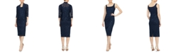 SL Fashions Lace Jacket & Midi Dress