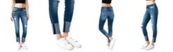Kancan Mid Rise C&H Ankle Skinny