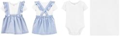 Carter's Baby Girls 2-Pc. Cotton Bodysuit & Skirtall Set