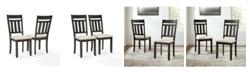 Crosley Hayden 2 Piece Dining Chair Set