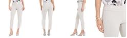 Nine West Crepe Pull-On Slim-Leg Ankle Dress Pants